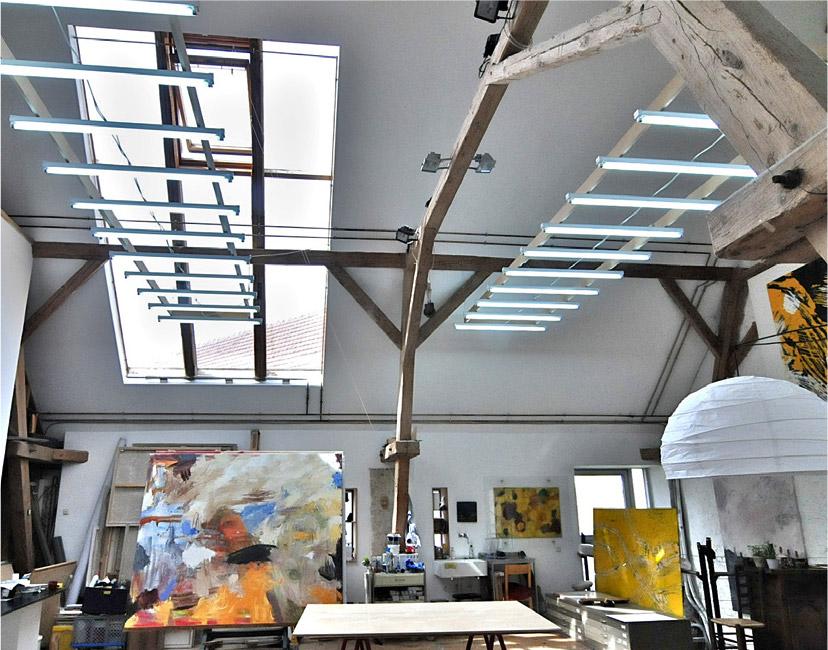 Atelier von Norbert Kiening