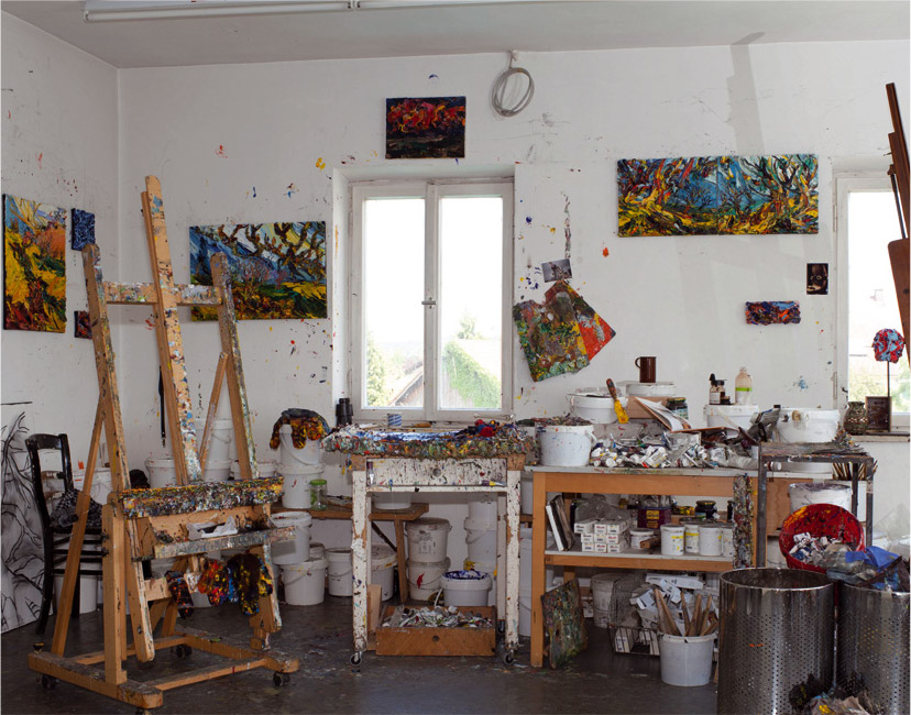Atelier von Harry Meyer