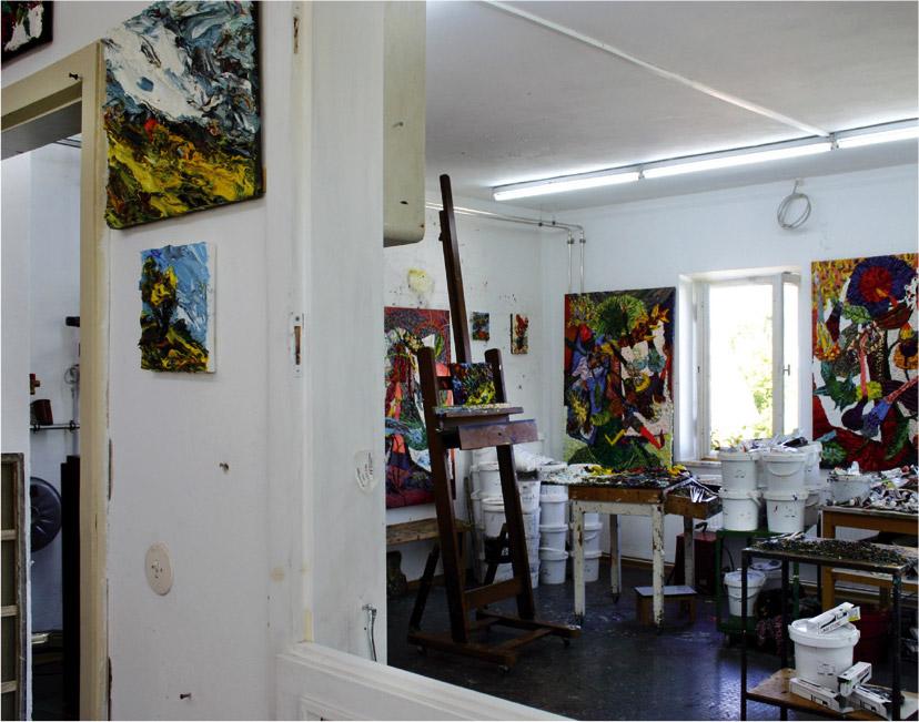 Atelier von Harry Meyer