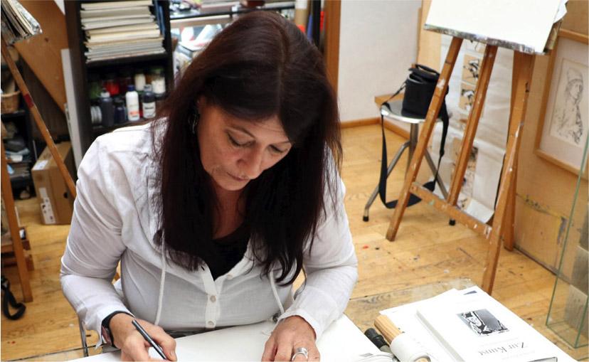 Atelier von Kersten Thieler-Küchle
